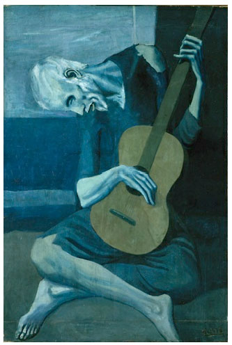 Picasso, Old Guitarist