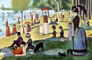 A Sunday Afternoon...1884-6, Georges Seurat