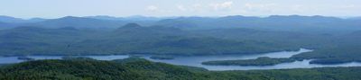 Adirondacks, View from Snowy Peak