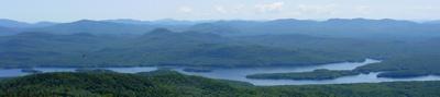 Adirondacks, View from Snowy Peak