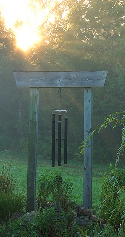 Wind Chimes at Sunrise